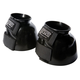 Roma PVC Smooth Velcro Bell Boots