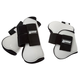 Roma Competitor Open Front/Fetlock Boot Set White