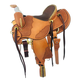 CO Saddlery Black Hills w/Bull Hide Seat Saddle