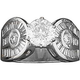 Medium English Ladies Ring Stainless Steel