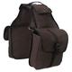 Tough-1 Canvas Saddle Bag Brown