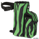 Tough-1 Wild Snap-On Water Bottle Holder Zebra