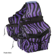 Tough-1 Wild Insulated Saddle Bag White Zebra