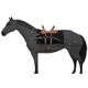 Tough-1 Sawbuck Pack Saddle