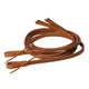 Tory Harness Leather Double Stitch Split Reins 3/4