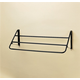 Stubbs 3-Rail Fold-Down Blanket Rack Black