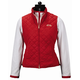 Equine Couture Spinnaker Micro Suede Vest 3X Red
