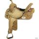 Billy Cook Saddlery Combs Gator HB Saddle 15In Tan