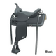 Abetta Brushpopper Flex-Trail Saddle 17XW BRN