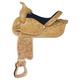 Simco-Longhorn Combs Tooled Barrel Saddle 16