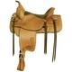 Tex Tan Franklin Flex Trail Saddle 15XW RUS