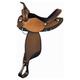 Tex Tan Mesquite Barrel Saddle 16