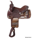 King Series Calico Synthetic Saddle 17 Mohawk Brwn