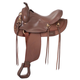 King Series Gaited RND Synthetic Saddle 16.5 Brown