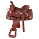 King Series Mini Concho Westen Saddle Dark Oil