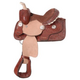 King Series Mini Tooled Barrel Saddle