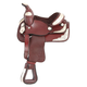 King Series Mini Western Show Saddle Medium Oil