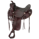 King Series Round Ranch Saddle 17.5 Dark Oil