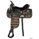 King Series Southwest Synthetic Saddle 17 Shoshone