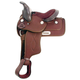 King Series Synthetic Pony Saddle 11 Brown
