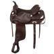 Royal King McKinney Silver Saddle 16.5 Medium Tan