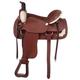 Royal King Rawhide Suede Roper Saddle 16.5