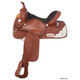 Silver Royal Ranger Trail Saddle 16.5 Medium Oil