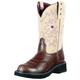 Ariat Ladies Probaby Cream Boots 11