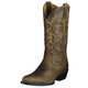 Ariat Mens Heritage R Toe Distressed Brown 14EE