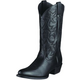 Ariat Mens Heritage R Toe Black Deertan 14EE