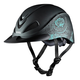 Troxel Rebel Rodeo Helmet Large Turquoise Rose