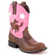 Roper Kids Western Lights Pink Cowboy Boot 3