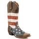 Roper Mens Snip Toe American Flag Boot 14EE