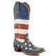 Roper Ladies American Flag Boot 11