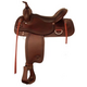 Tex Tan Response Western Trail Saddle 18In Chocola