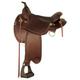 Tex Tan Monroe Flex Western Trail Saddle 17In Choc