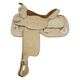 Tex Tan Roughout Trainer Saddle 16In Roughout