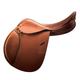 Pessoa A/O Junior Leather Saddle 16 Reg Flap