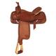 Tex Tan Boe Allen Roper Saddle 15.5In Pecan
