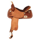 Tex Tan Go Round Barrel Saddle 15In Pecan