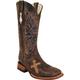 Ferrini Ladies Cowhide Cross Vamp Boots 10