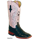 Ferrini Ladies Print Anteater Boots 10 Brown