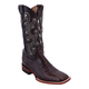 Ferrini Ladies Print Gator Sq Toe Boots 10 Brown