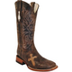Ferrini Mens Cowhide Cross Vamp Boots 13D