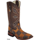 Ferrini Mens Patchwork Boots 13D Honey