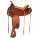 Tex Tan Jackson Flex Western Trail Saddle 17In XW