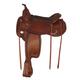 Tex Tan Montgomery Flex Western Trail Saddle 17In