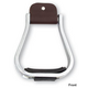Martin Aluminum Engraved Rubber Tread Stirrups