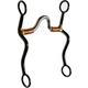 Western SI High Port Copper Wire S-Shank Bit