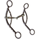 Westen AT Dot Snaffle Long Sliding Gag Bit